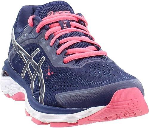 ASICS - Chaussures Gt-2000 7 (D) pour Femmes, 40 C D EU, Peacoat argent