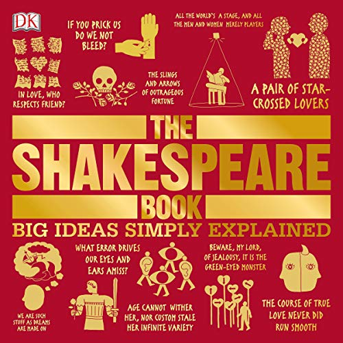 The Shakespeare Book audiobook cover art