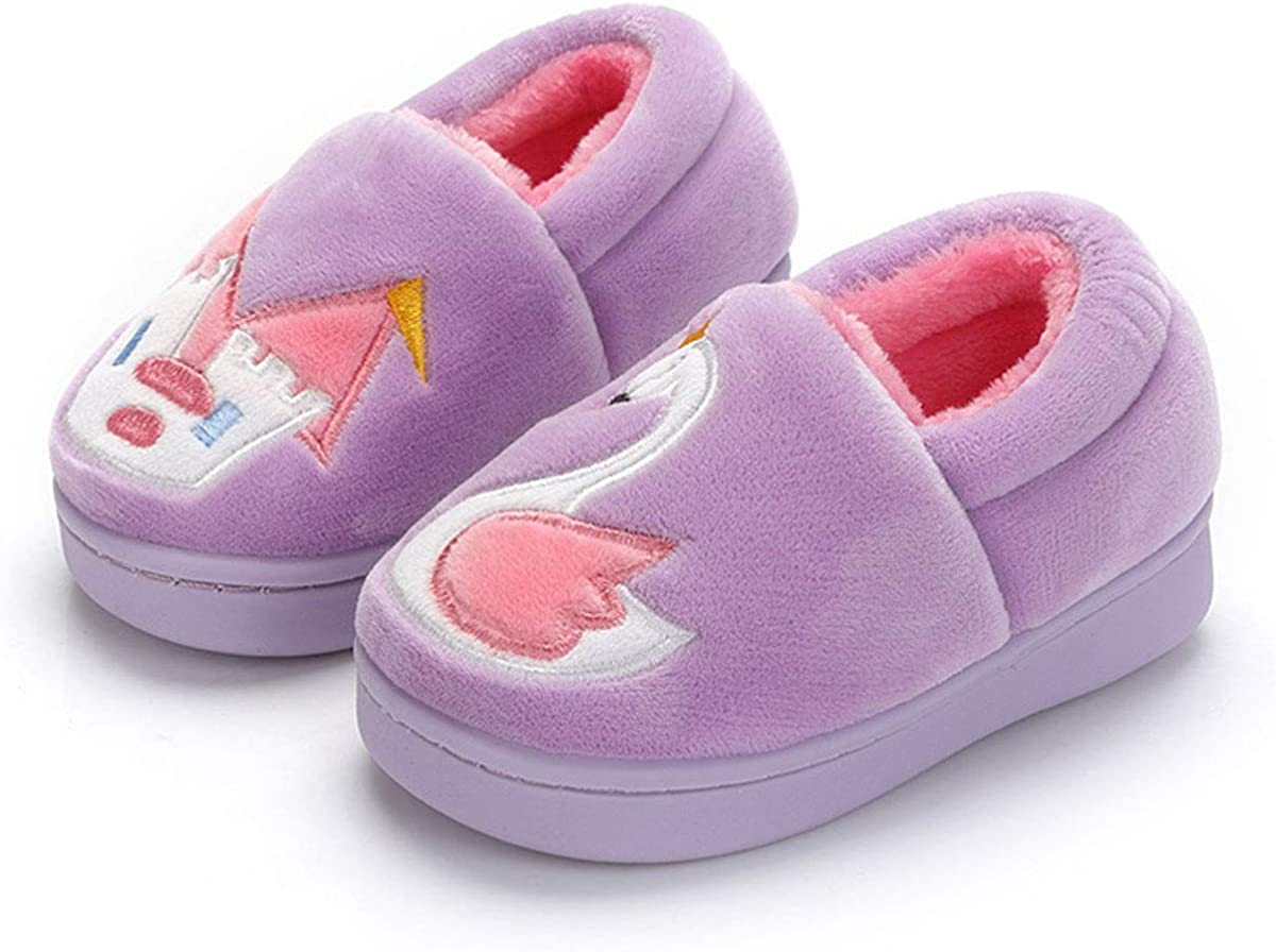 Kitulandy Max 56% OFF Boys Girls Slippers Warm Winter Indoor Shoe Home House Price reduction