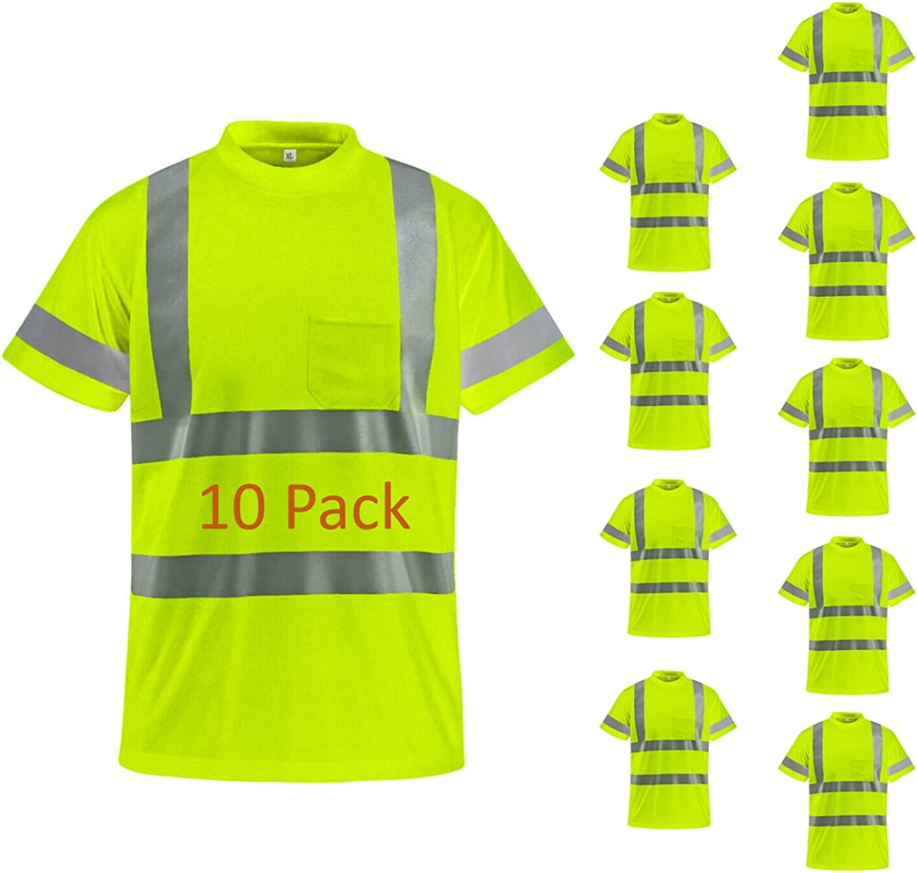 BeautyWill Safety Shirts Class Quality inspection 2 with Visibility High Ranking TOP7 Ref