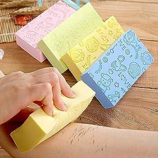 Ultra Soft Exfoliating Sponge | Asian Bath Sponge For Shower | Japanese Spa Cellulite Massager | Dead Skin Remover Sponge ...