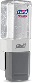 PURELL Advanced Hand Sanitizer ES Everywhere System Starter Kit, 1 – 450 mL Sanitizer Refill + 1 – PURELL ES Compact Starter Push-Style Dispenser - 1450-D8