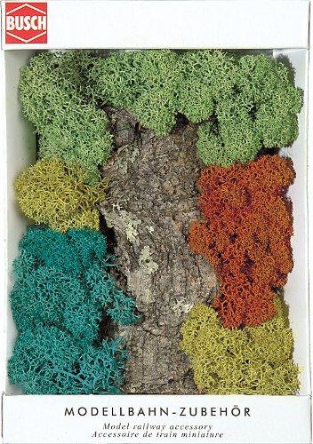 Hornby France - Busch - 7101 - Circuit - Train - Paquet rochers + buissons lichen