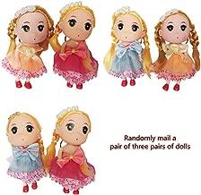 Cute Princess Dolls Women Girls Bag Pendant with Key Chain