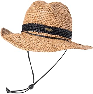 Rip Curl Women's Islands Straw Cowgirl, Natural, 1SZ