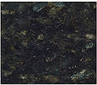 EZ FAUX DECOR Marble Self Adhesive Granite Black Roll Kitchen Countertop Cabinet Furniture Instant Update. Easy to Remove Thick Waterproof PVC Vinyl Laminate Film. Why Paint? (36