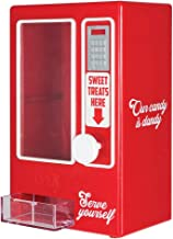 KOVOT Sweets Vending Machine Tabletop Candy Dispenser   Desktop Candy Dish   Pull The Knob To Dispense Mini Treats   Measures 7.5