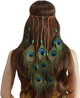 4b0ce53863 Amazon.com: hippie hair accessories