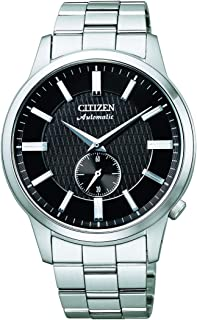 CITIZEN Mens Mechanical Watch, Analog Display and Solid Stainless Steel Strap - NK5000-98E