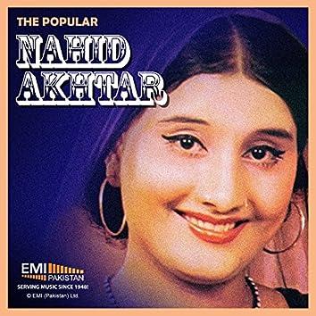 The Popular Nahid Akhtar