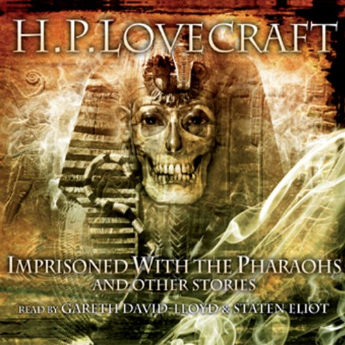 Imprisoned by the Pharaohs and Other Stories audiobook cover art