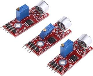 F Fityle サウンド マイクセンサモジュール 3個 Arduino用 マイク検出モジュール 高感度