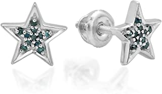 Best diamond star earrings studs Reviews