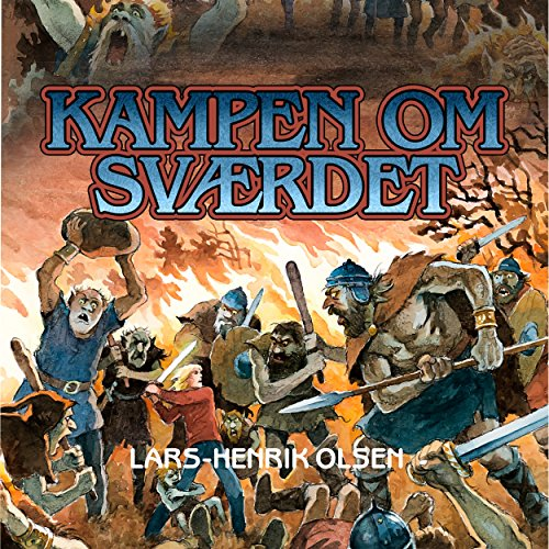 Kampen om svaerdet audiobook cover art