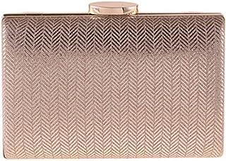 IRVING Women Clutches Evening Bags Handbags Wedding Clutch Purse (Color : E)