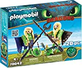 PLAYMOBIL How to Train Your Dragon III Ruffnut and Tuffnut with Flight Suit