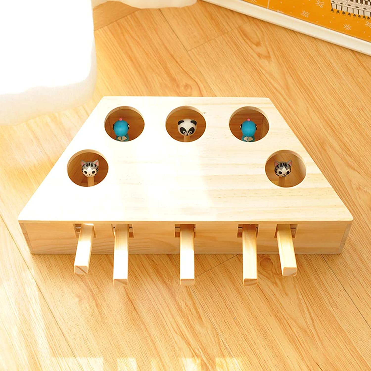 AB pet toy Interactive cat toys wooden educational toys funny cat cat supplies