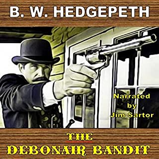 The Debonair Bandit audiobook cover art