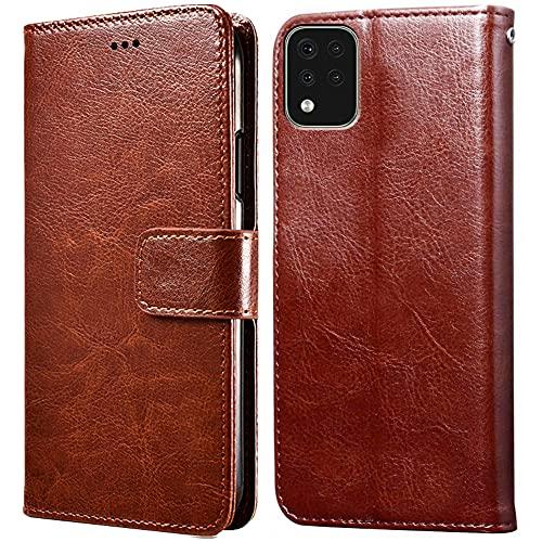 Hülle für LG K42/K52,Handyhülle für LG K52,Klappbar Tasche Hülle,Standfunktion,Kartenfach,Silikon Bumper,Stoßfeste Schutzhülle Cover für LG K42(6.6