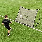 RapidFire Profi Pop-Up Fußball Rebounder - das perfekt Fußball-Trainingsgerät für den Garten