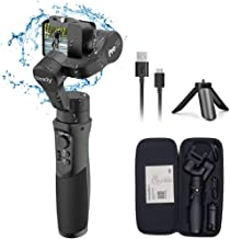 Hohem iSteady Pro 2, 3-Axis Splash Proof Gimbal Stabilizer for GoPro, DJI OSMO Action Camera, GoPro Gimbal with Tripod, APP Control for Gopro Hero 7, SJCAM, YI, Sony RX0