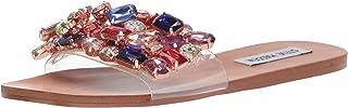 Steve Madden Women's Brionna Heeled Sandal, Multi, 6.5