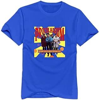GYKU Men's Procol Harum T-Shirt,100% Cotton