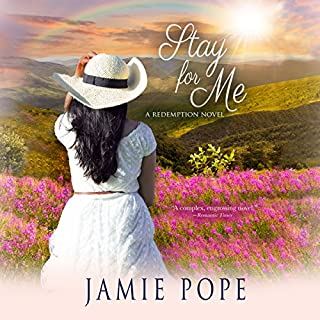Stay for Me     A Redemption Novel              Written by:                                                                                                                                 Jamie Pope                               Narrated by:                                                                                                                                 Angel Cochrane                      Length: 9 hrs and 30 mins     Not rated yet     Overall 0.0