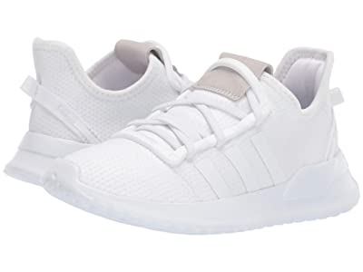 adidas Originals Kids U_Path Run EL C (Little Kid) (White) Kids Shoes