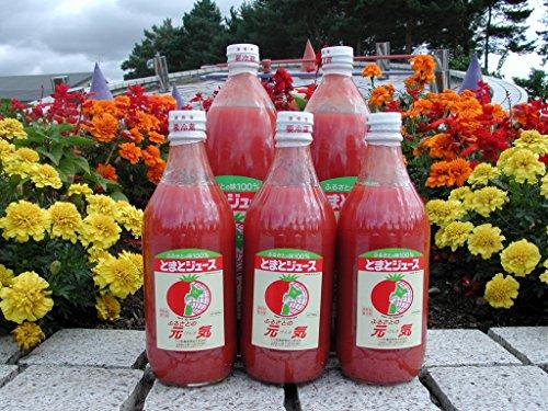 とまと100%ジュース「ふるさとの元気」500ml×10本 ギフト 産直 国産 お中元 お歳暮 お祝い 御祝 内祝い 桃太郎 とまとジュース トマトジュース 野菜ジュース 砂糖不使用