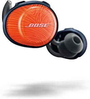 Bose SoundSport Free, True Wireless Earbuds, (Sweatproof Bluetooth Headphones for Workouts and Sports), Bright Orange