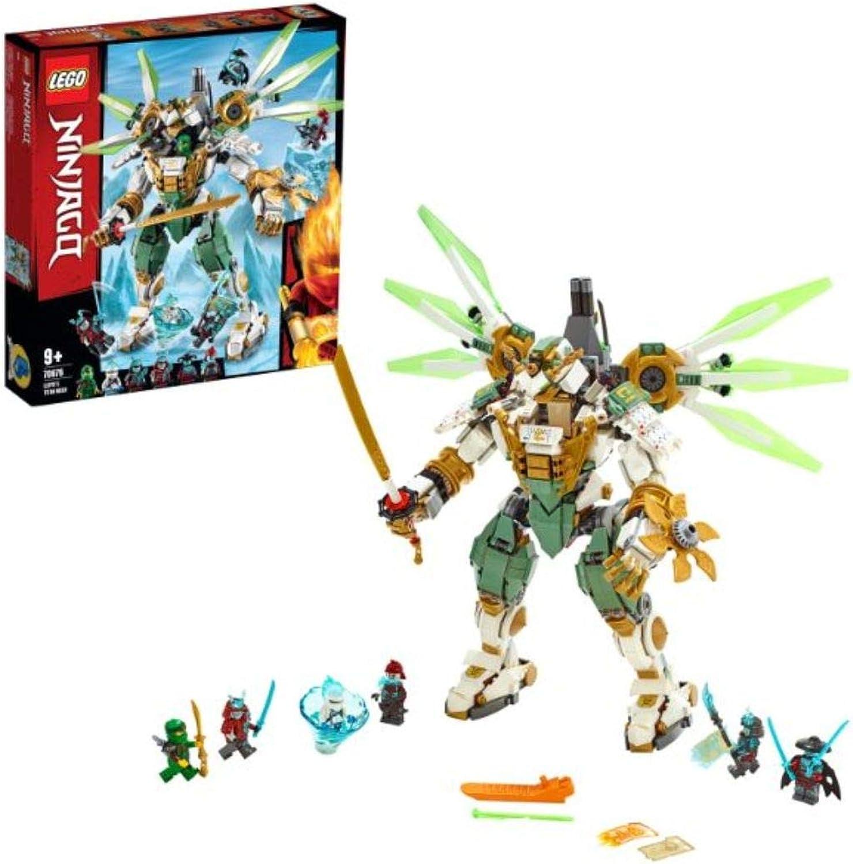 LEGO 70676 NINJAGO Lloyd's Titan Mech Action Figure, Masters of Spinjitzu Playset