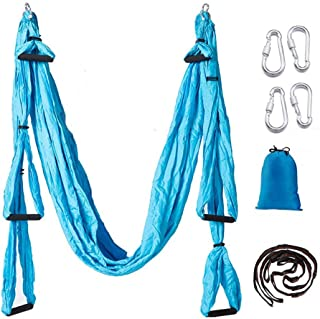 Aerial Yoga Swing Set,Ultra Strong Yoga Hammock Trapeze Extension,Antigravity Ceiling Hanging Yoga Sling Inversion Exercises