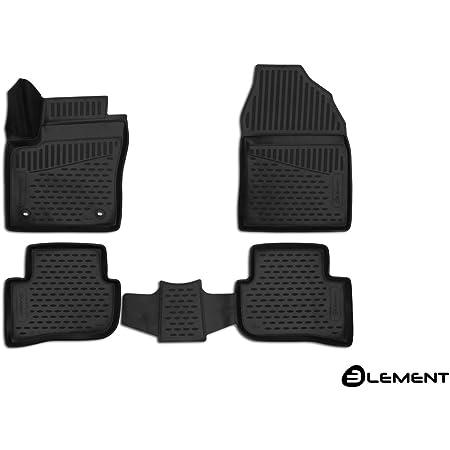 Moto Moltico 3d Gummimatten Auto Fußmatten Gummi Automatten 4 Teilig Set Passend Für Toyota C Hr Ab 2016 Auto