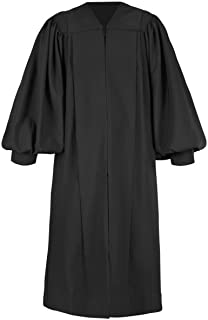 Pulpit Clergy Robe in Black