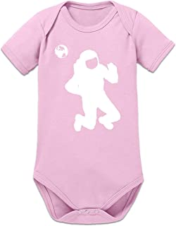 Shirtcity Cosmonaut Silhouette Baby Strampler by