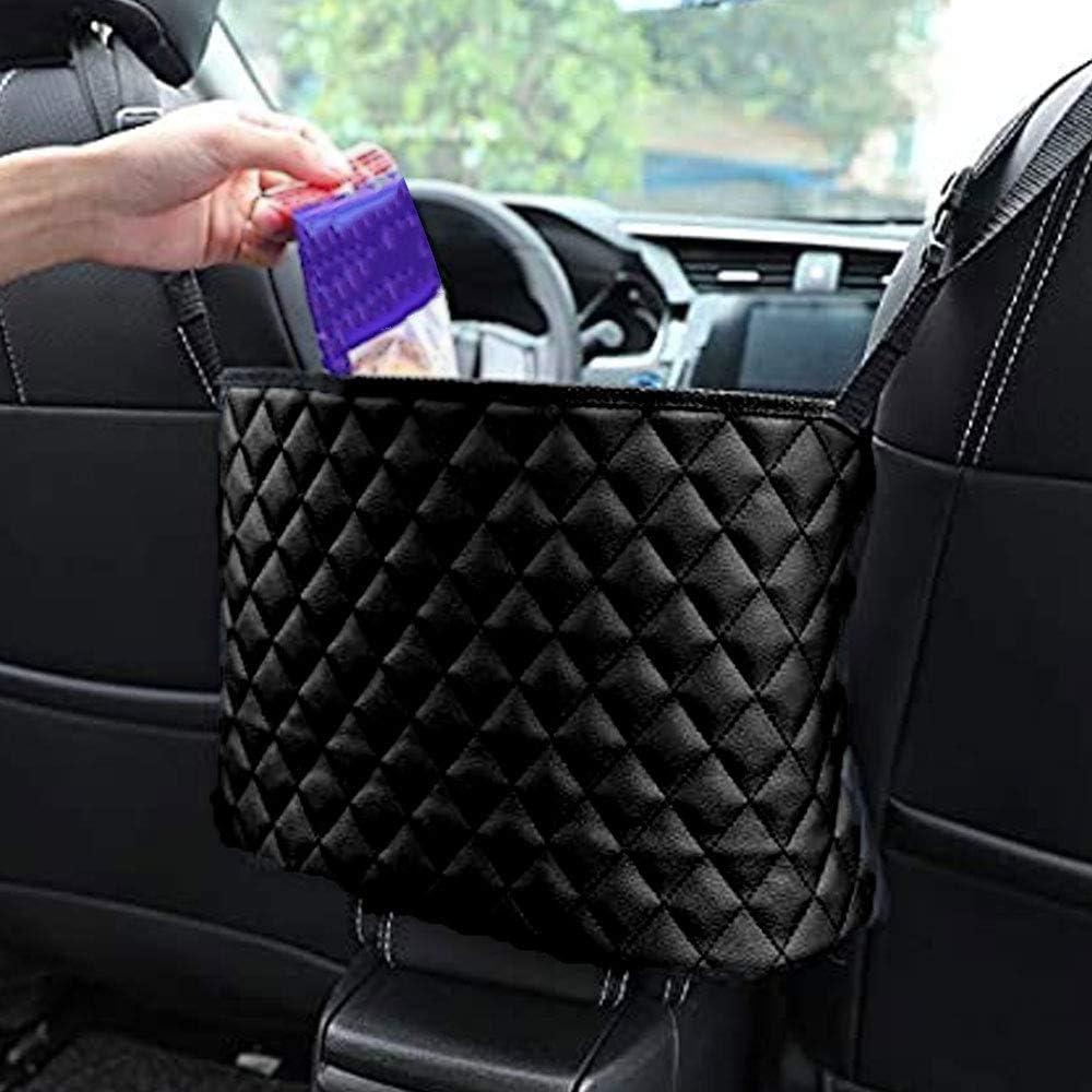 Car Handbag New Shipping Free Holder Between It is very popular Seats Leather Dri Back Organizer Seat