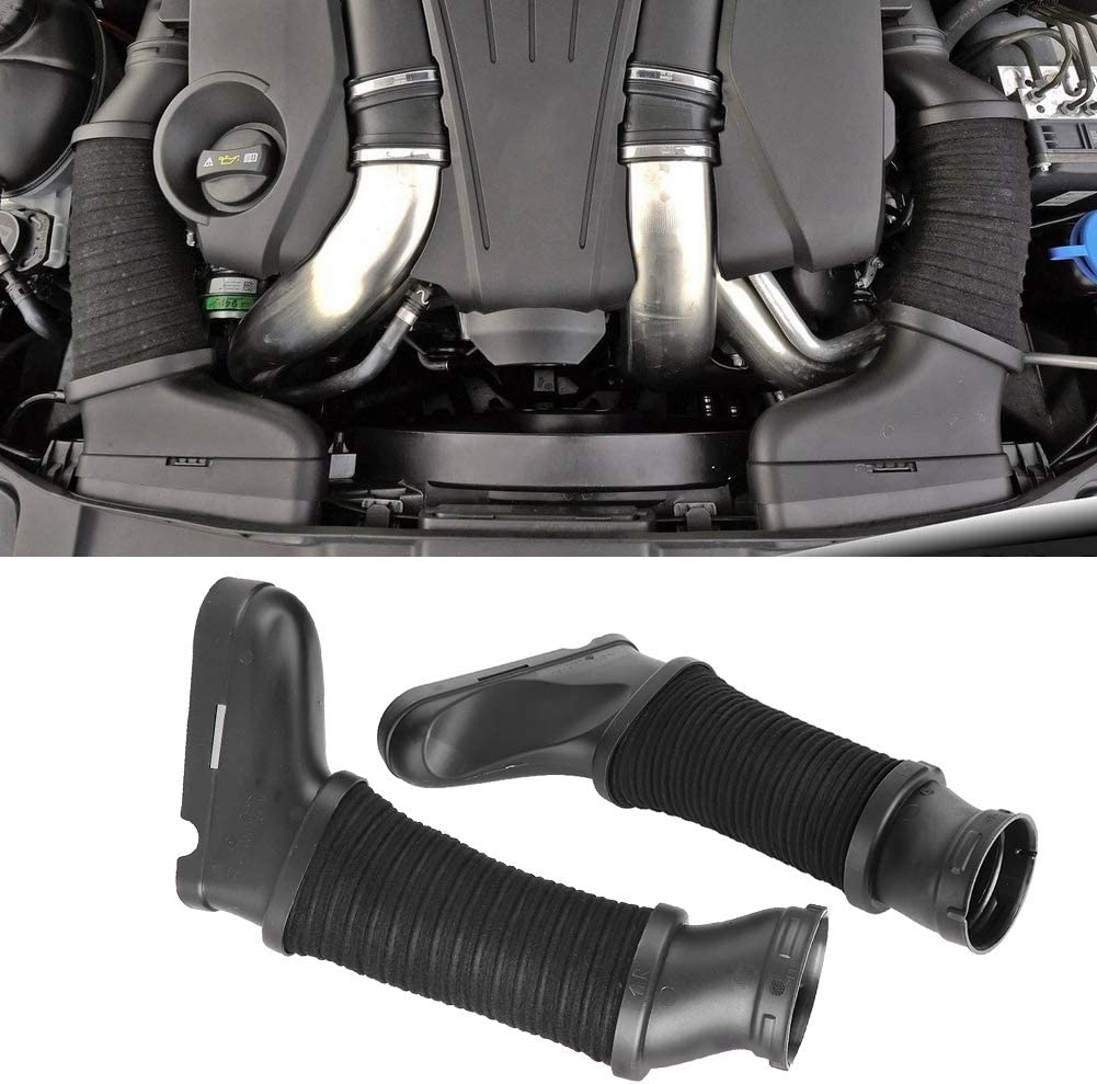 Terisass Air Intake Duct Car Vehicle Air Intake Duct Hose Tube Fit for Mercedes-Benz W218 CLS500 CLS550 CLS63AMG W212 E500 E550 2012 2013 2014 2015 2016 2017 Left /& Right