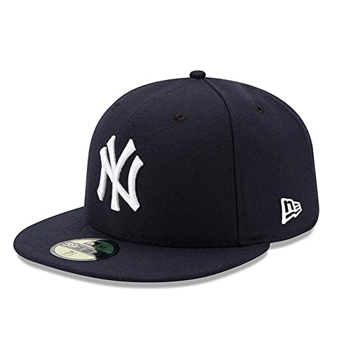 15d8dc0f9f1 New Era Mens New York Yankees MLB Authentic Collection 59FIFTY Cap