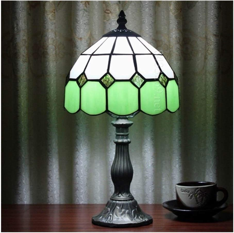 Bright Atmosphere 8inch Max 86% OFF Table Lamp mart Handmade Bedsid Simple Style