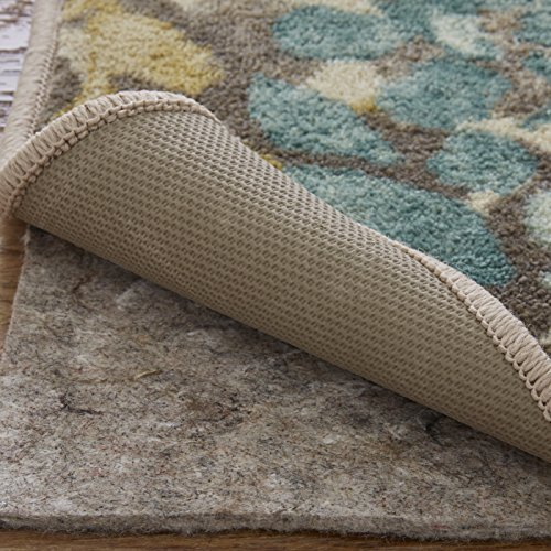 Mohawk Ultra Premium 100% Recycled Felt Rug Pad, 8'x10', 1/4 Inch Thick, Safe for All Floors