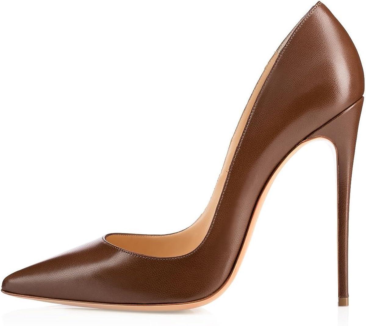 SAMMITOP Women's Classic Pointed Toe High Ranking TOP14 Ranking TOP20 Stilettos S Pumps Heel