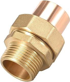 DZF697 1PC G1 Dold Cuivre Union de cuivre avec Une Joint de Soudure de Sueur sur des connecteurs filetés mâles for Une Uti...