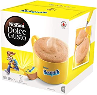 NESCAFÉ Dolce Gusto Nesquik Chocolate Coffee Pods, 16 Capsules (16 Serves) 256g