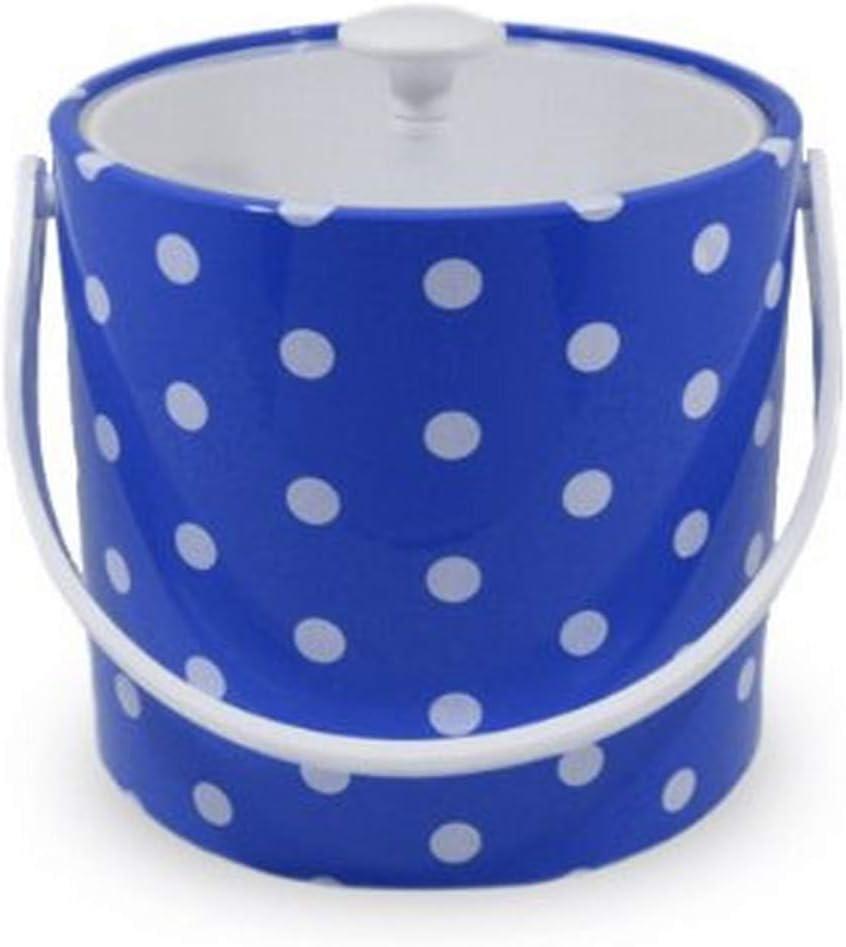 Mr. Ice Bucket 705-1D Polka overseas 3-Quart 5 ☆ popular Dots Bl Specter