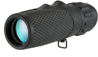 Lixada Telescopio Monocular Plegable Retro 25x30 mm Zoomable Port/átil Tirador de Mano Bolsillo Monocular Monocular de Pirata