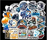 HENJIA Go Fishing Aufkleber Laptop Koffer Gefrierschrank Motorrad Auto Styling DIY Dekoration...
