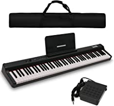 Dulcette DX-10 88-Key Portable Piano Keyboard | Dual 25W Spe