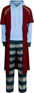 Mens Fat Thor Cosplay Costume Casual Hoodie Long Pants Pajamas Suit Halloween Party Outfit