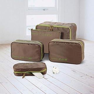 MU Grande boîte de rangement, sac de rangement portatif de voyage, finissage interne des vêtements, boîte de rangement mul...